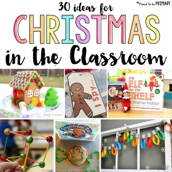 Christmas Classroom Activities: 30 Ideas