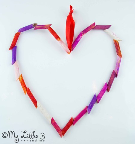 Kids Craft Room - Beaded and Pasta Hearts