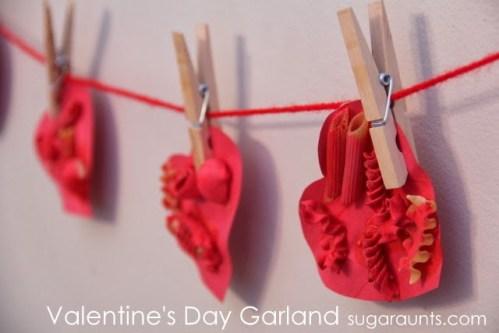 Sugar Aunts - Valentines Day Noodle Garland