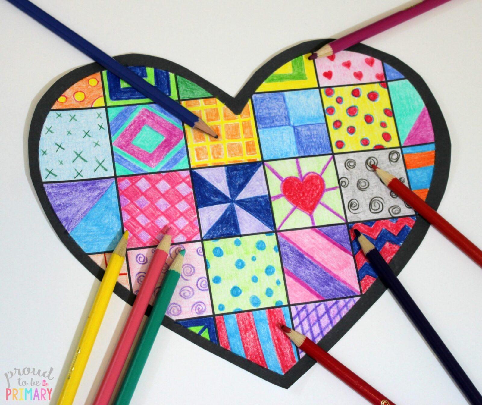 20 Valentine S Day Heart Crafts For Kids