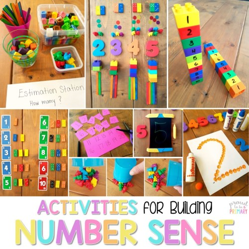 activities for building number sense