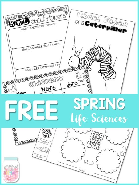 free spring life sciences pack - proud to be primary