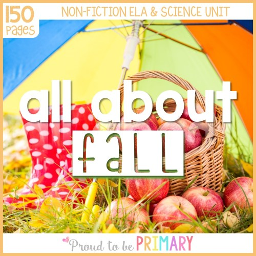 fall lesson plans - All About Fall
