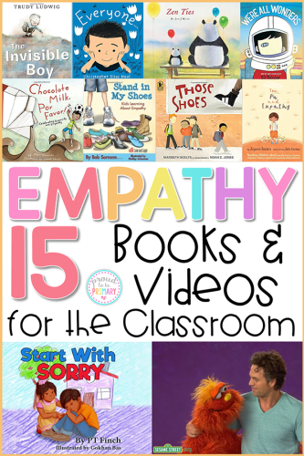 teaching empathy skills with empathy books and videos