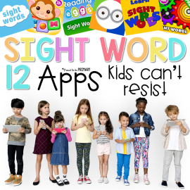 12 sight word apps kids can't resist