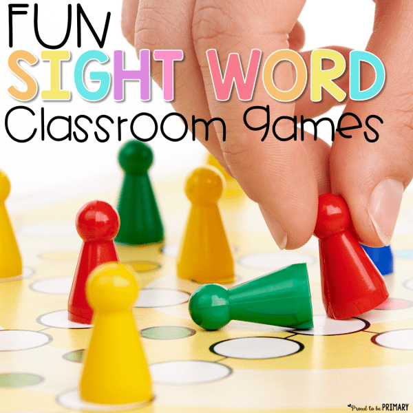 fun sight word classroom games