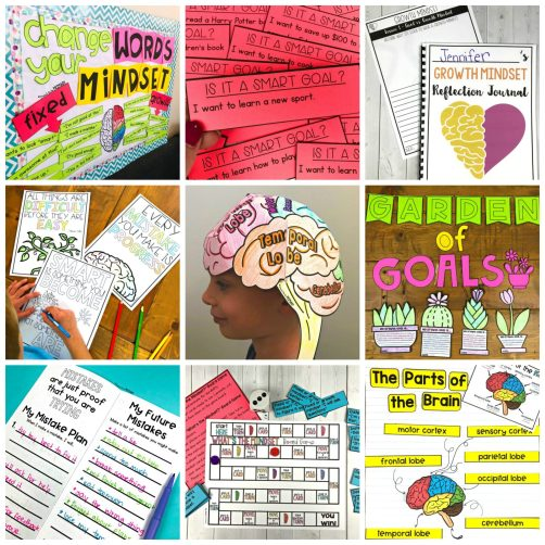 growth mindset activities - growth mindset unit for 3-5