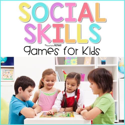social skills games for kids