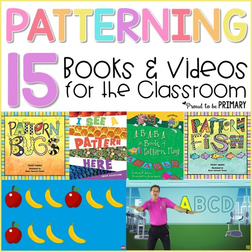 patterning books and videos for kids