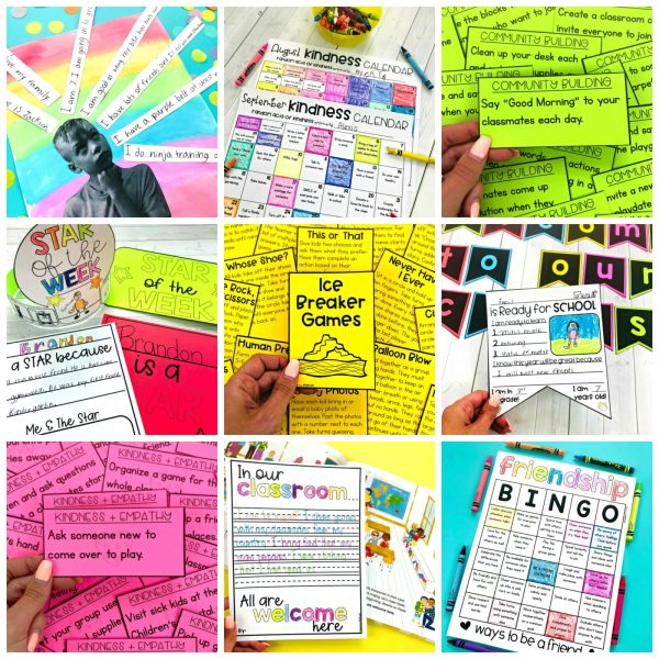 back to school sel resource