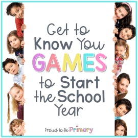 get to know you games for kids in the classroom
