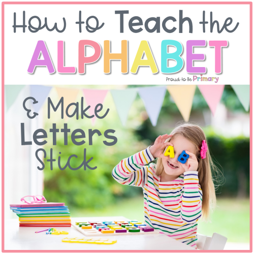 how to teach the alphabet header
