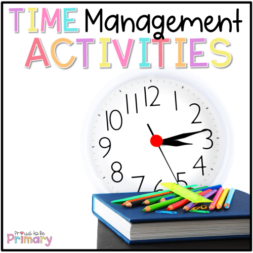 time management activities for the classroom