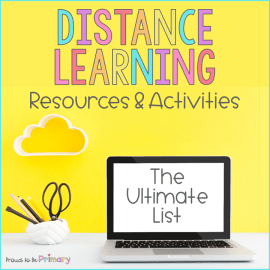 distance teaching and learning activities
