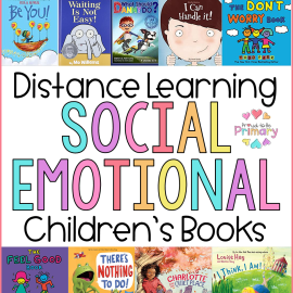social emotional children's books list for distance learning at home