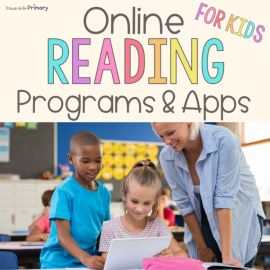 Online reading for kids: programs and apps