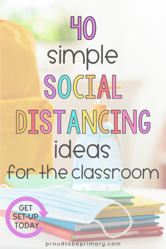 classroom social distancings ideas for k-3 - hand sanitizer