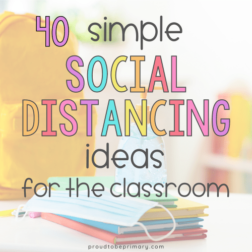 classroom social distancings ideas for k-3