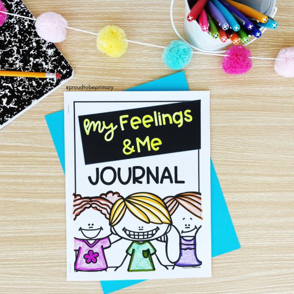free feelings journal for kids