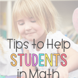 Math Strategies for Struggling Students in K-2