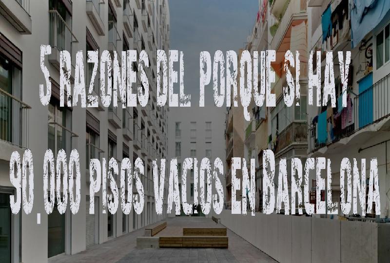 Alcalde tr as hay pisos vac os en barcelona 5 for Portales inmobiliarios barcelona