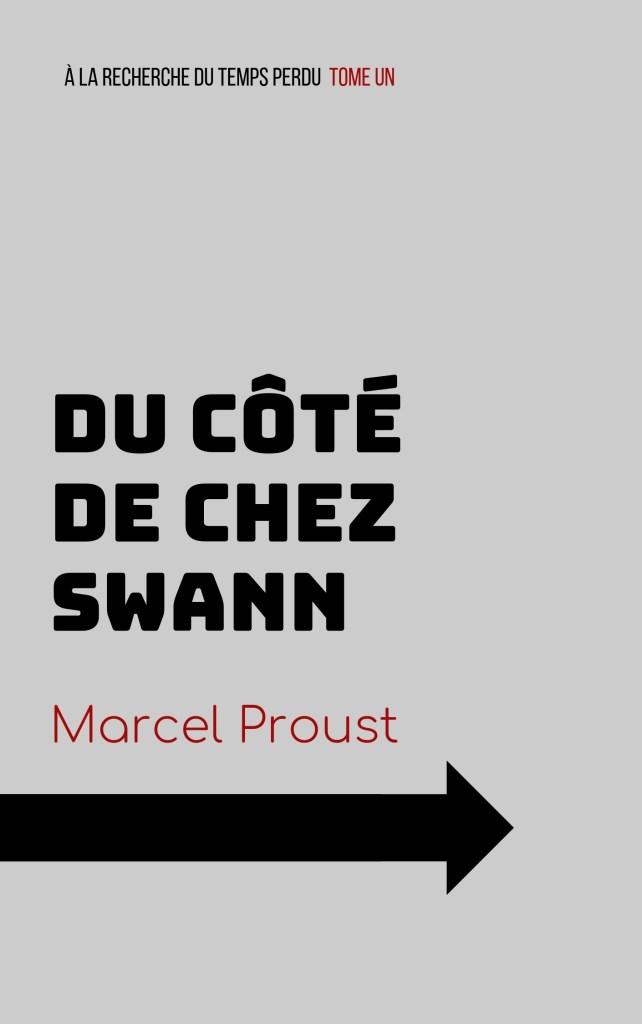 Couverture de Du Côté de chez Swann en mode Bauhaus