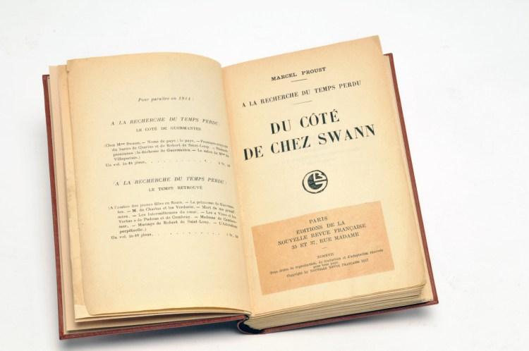 Couverture de Ducôté de chez Swann de Marcel Proust