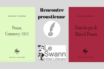 Invitation à la rencontre entre Nicolas Ragonneau et Jérôme prieur à l'hôtel Le Swann