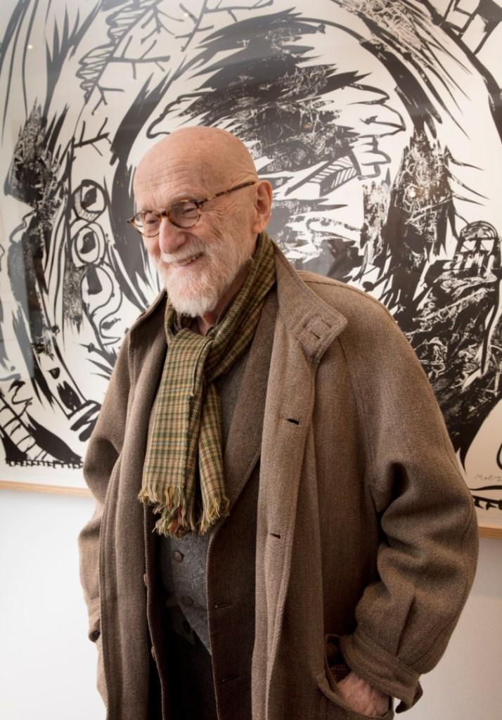 Portrait de Pierre Alechinsky