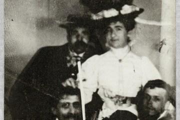 Photo de Marcel Proust avec Reynaldo Hahn