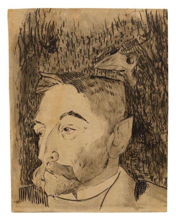 Portrait de Mallarmé