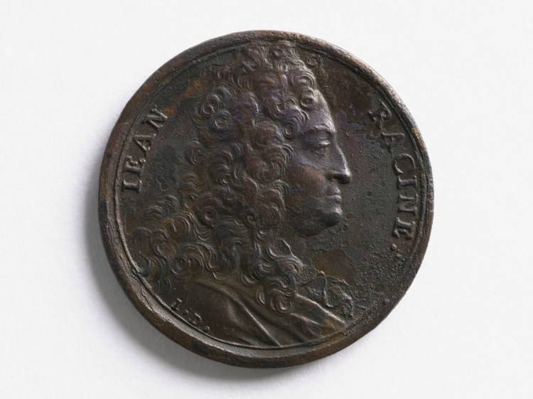 Monnaie à l'effigie de Racine
