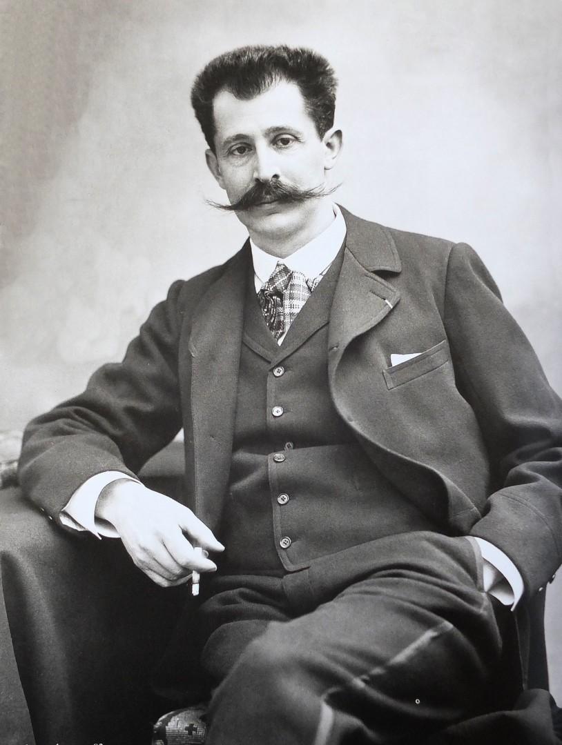 Postiches et mélanges : la moustache au temps de Proust - Proustonomics