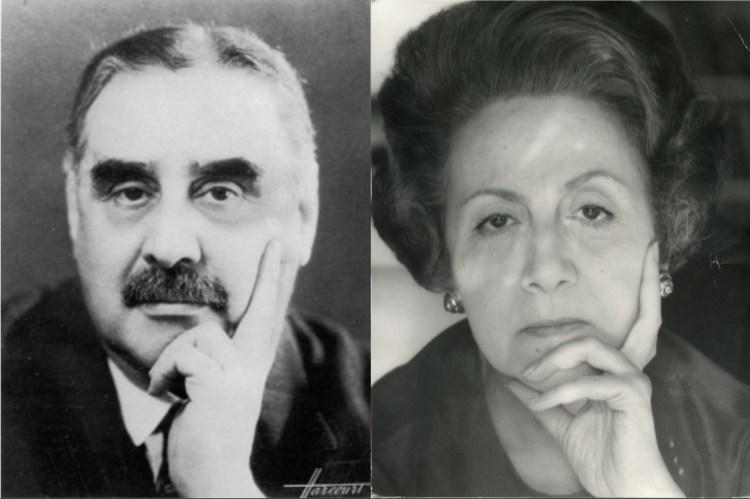 portrait de Robert Proust et Suzy Proust