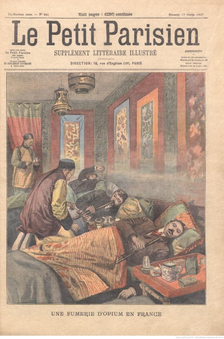 Proust et l'opium : un passage oublié du Journal des Goncourt