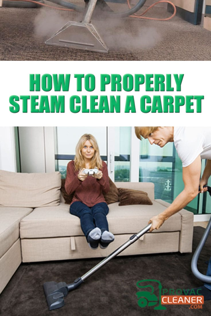 Steam Clean a Carpet