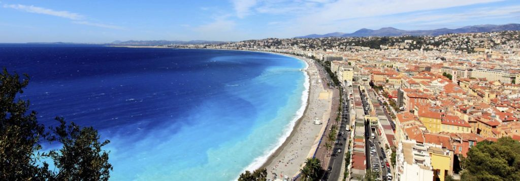 Nice French Riviera Bay of Angels