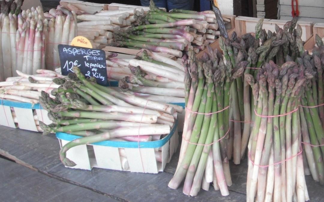 Venez déguster les asperges au Mas des îles
