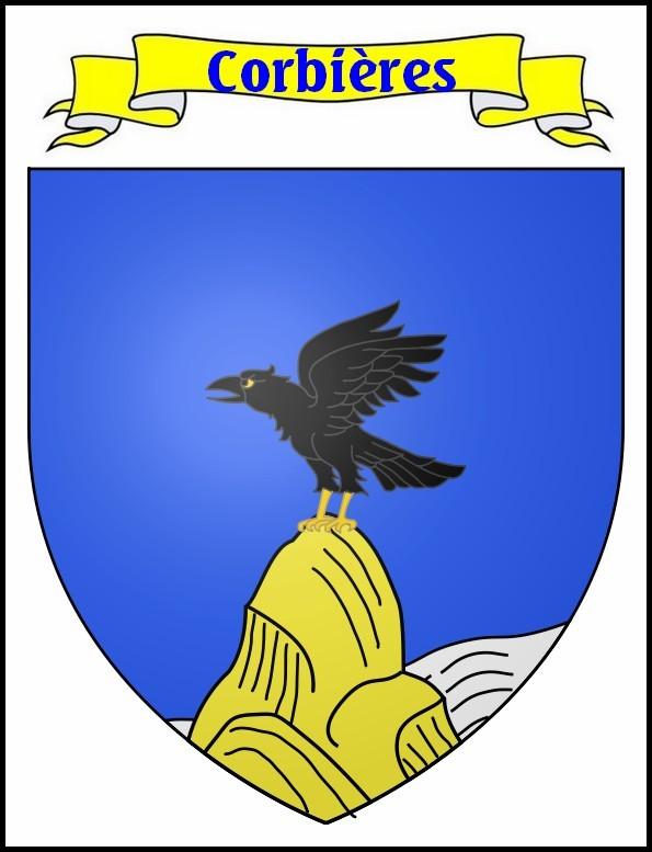 Blason de Corbières