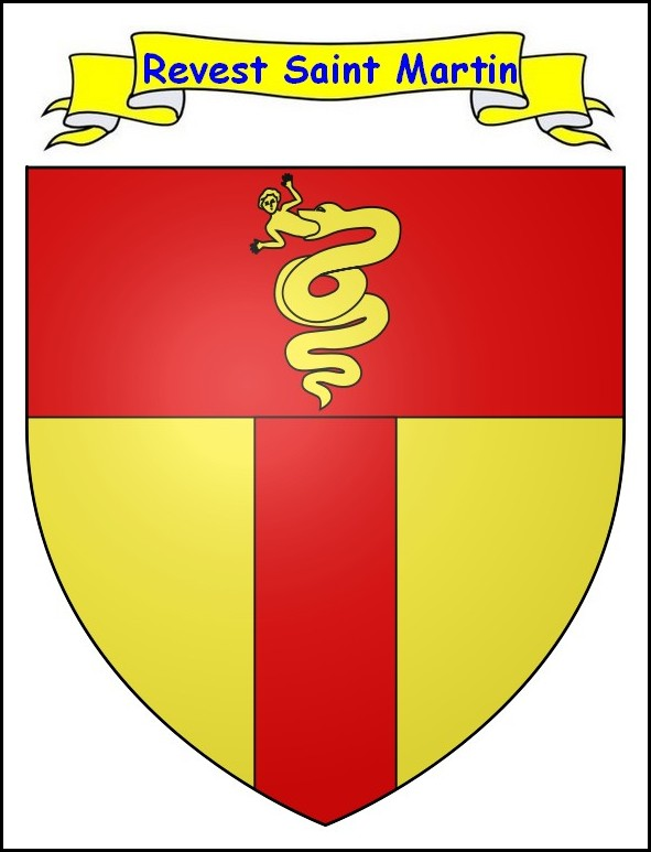 Blason du Revest Saint Martin