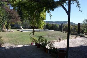 Garden viewed from terrace