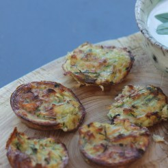 Courgettes and Dill Cakes Provencal Recipe