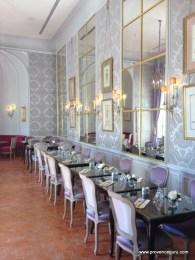dining room Hotel Caumont