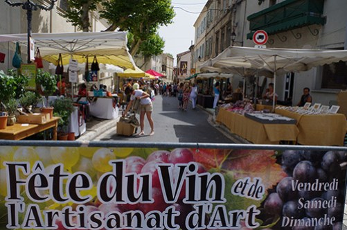 Saint Remy Fete du Vin 28-30 July