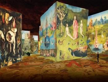 Carrieres de Lumieres art show