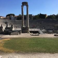 The Roman Theatre in Arles