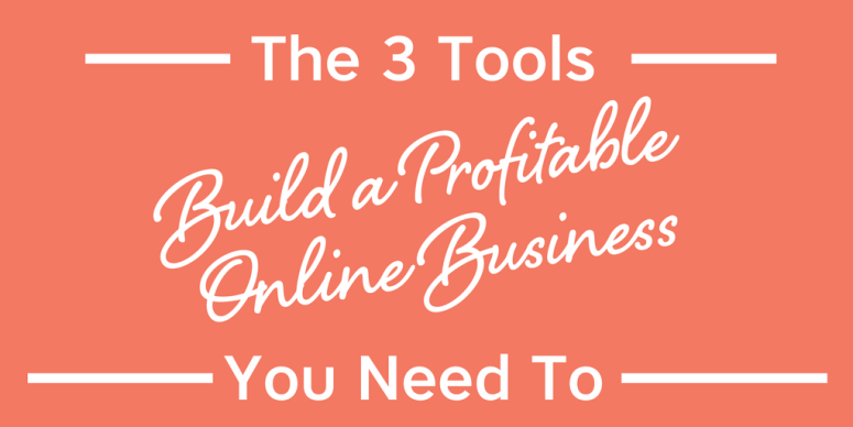 Ready to build your business? Let me show you where to start and how to build a profitable online business. I'm sharing 3 simple tools you need. Let's Go! #mompreneur #onlinebusiness #blog #website #emailmarketing #facebook