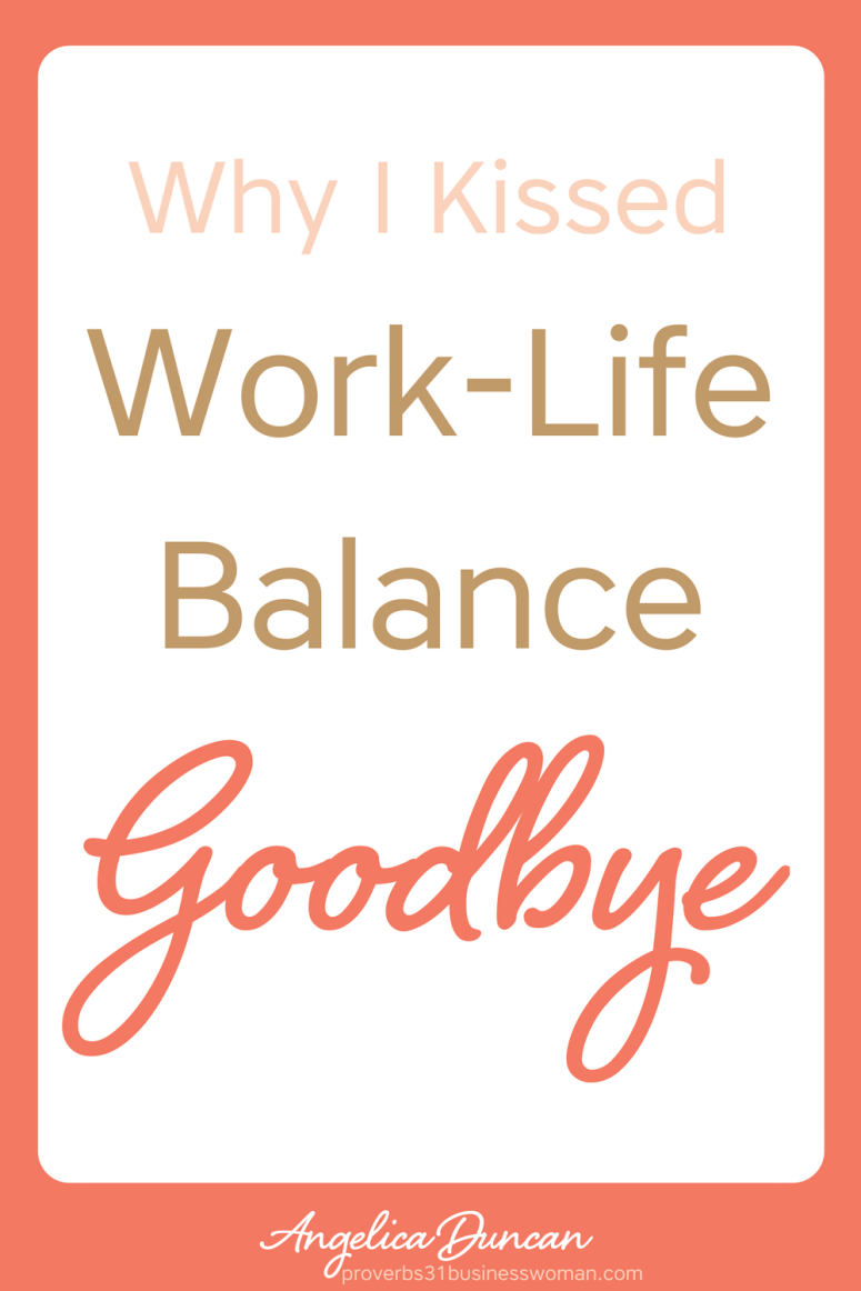 Is work-life balance achievable? If you're anything like me, it's a moving target Let me offer you something more realistic and meaningful! #mompreneur #onlinebusiness #wahm #womeninbusiness #christianbusiness #christianwomeninbusiness #christianentrepreneurs #proverbs31 #proverbs31woman #proverbs31businesswoman #proverbs31enrepreneur #p31 #angelicaduncan #silkoversteel #sos