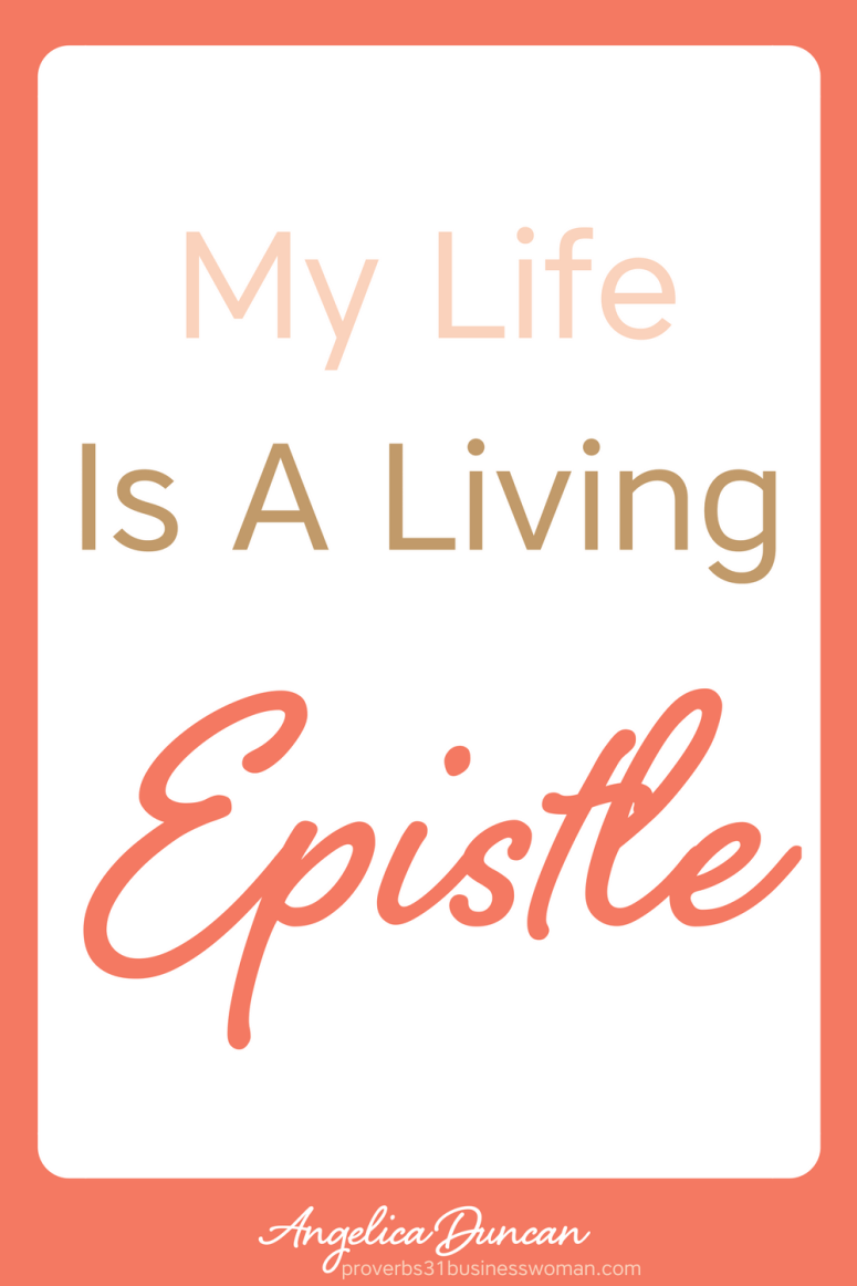 My life is a living Epistle for Christ - Daily Confessions and Affirmations For Christians #christianaffirmations #christianconfessions #christiandeclarations #biblicalaffirmations #biblicalconfessions #biblicaldeclarations #propheticaffirmations #propheticdeclarations #propheticconfessions #christianquotes #inspirationalquotes #motivationalquotes #affirmations #confessions #speaklife #encouragement #inspiration #hope #faith #bible #scripture #angelicaduncan #silkoversteel #sos