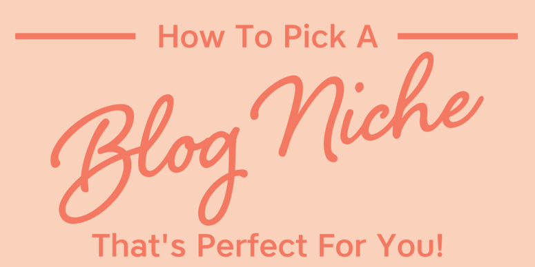 Your blog niche can mean the difference between a profitable blog that makes money or one that flops. Let's talk about tips on how to pick a blog niche that's perfect for you! You'll discover how to find a blog niche that's in high demand, gets good traffic, and allows you to make money from home.